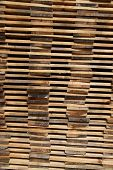 Stack Of Wooden Boards