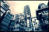 image of pipeline  - oil and gas refinery industry - JPG