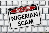 Nigerian Scam Danger Sign