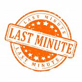 Orange Stamp - Last Minute