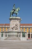 Statue of King Jose in Lisbon