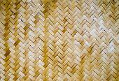 Woven Bamboo Wall