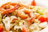 salad with shrimp