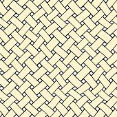 Woven Beige Stripes Pattern