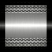 silver metal texture with holes metal background