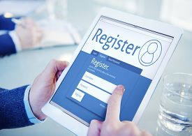 foto of joining  - Register Membership Application Registration Join Office Browsing Concept - JPG