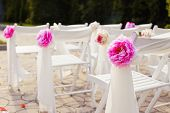 stock photo of marriage decoration  - Decorations wedding - JPG
