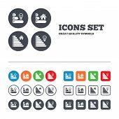 image of efficiencies  - Energy efficiency icons - JPG