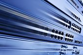 High Speed Internet, Web Hosting Information Technology. Fast IT network poster