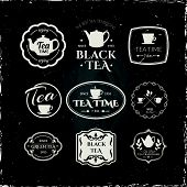 picture of teapot  - Simple symbols with cup  - JPG