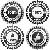 Set of best choice and quality guaranteed seals.