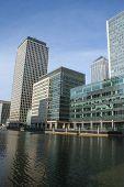 Docklands Skyline London