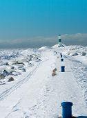 Ski Trail To Light