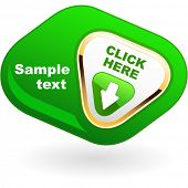 Download button. Vector illustration.