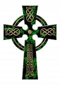 Cross From A Green Marble