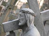 Stone Statue Of Jesus
