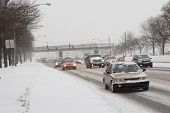 Winter Traffic From Pedestrian Point Of View