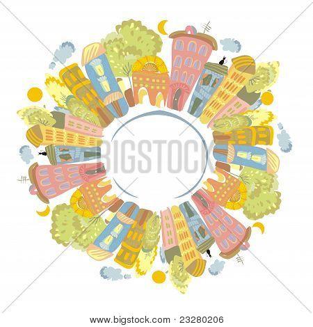 Постер, плакат: Цвет планеты, холст на подрамнике