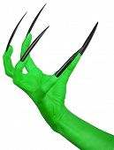 The evil green claw.