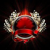 Red Emblem Races, bitmap copy