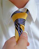 Grabbing Tie