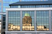 stock photo of modern building  - Custom House  - JPG