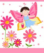 image of faerie  - flower fairy - JPG