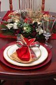 Christmas Place Setting