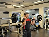 Biceps Barbell Curls
