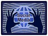 Social Media Data Theft. Privacy Breach Through Internet Piracy poster