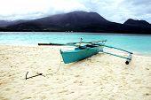 Barco en la isla de Camiguin