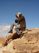 Desert Tourist poster
