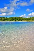 pic of mckenzie  - Lake McKenzie is one of the popular freshwater lake at Fraser Island Australia - JPG