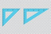 Triangle Ruler Square Set. Plastic School Drafting Drawing Right Angle Triangle Ruler. Plastic Trian poster