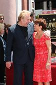 LOS ANGELES - MAY 22: Patricia Heaton, David Hunt at a ceremony honoring Patricia Heaton with a Star