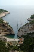 pic of luka  - aerial view of stirna luka cove - JPG