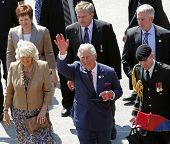 Prince Charles Waves Saint John