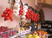 Fresh produce at Italian market