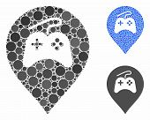 Video Games Marker Composition Of Spheric Dots In Various Sizes And Color Hues, Based On Video Games poster