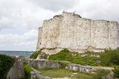 Gaillard Castle remains