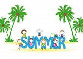 Verão para crianças