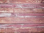 Old Red Wall Made Of Wood. An Old Painted Surface Made Of Wood For Design And Creativity. Texture Of poster