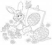 Artista del conejito de Pascua