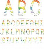 Rainbow American Font