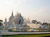 Wat Rong Khun At Chiang Rai, Thailand