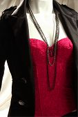 Mannequin With Suit And Camisole