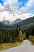 Road To Takakkaw Falls