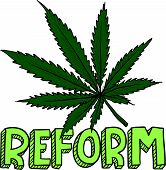 Marijuana law reform sketch