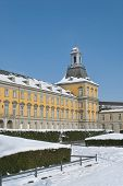 picture of bonnes  - University in the center of Bonn Germany sunny winter day - JPG
