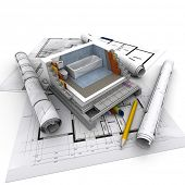 Technical details of home construction, toilet